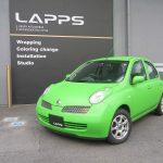 3M社のUK、USでマットアップルグリーンの車が紹介されました【Lapps】3M 1080