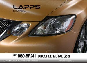 3M1080-BR241 ブラッシュドゴールド