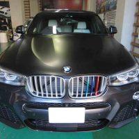 カーラッピング BMW X4 グリルラッピング