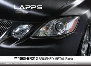 3M1080-BR212 ブラッシュドメタルブラック