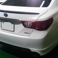 カーラッピング トヨタ-マークX ウイング、ディフューザー、グリル