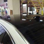 カーラッピング BMW-750L ルーフに施工