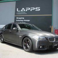 1カーラッピング BMW 523d