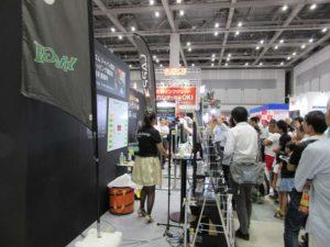 カーラッピング施工技術者の大会