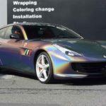カーラッピング フェラーリ GTC4 ルッソ フルラッピング【LAPPS】