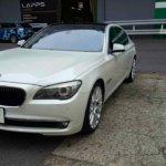 カーラッピング BMW 750IL 部分ラッピング 【LAPPS】