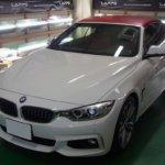 カーラッピング BMW 425  部分ラッピング 【LAPPS】