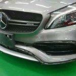 カーラッピング AMG A45 パートラッピング【LAPPS】