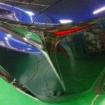 カーラッピング レクサス LC500 パートラッピング【LAPPS】