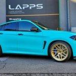 カーラッピング BMW X6M フルラッピング【LAPPS】