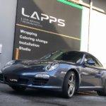 カーラッピング ポルシェ 911 フルラッピング 【LAPPS】