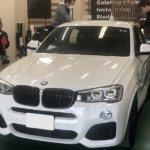 カーラッピング BMW X4 パートラッピング 【LAPPS】