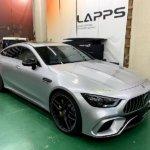 カーラッピング メルセデス・AMG GT4door Cupe フルラッピング 【LAPPS】