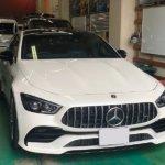 カーラッピング メルセデス・AMG GT43 パートラッピング 【LAPPS】