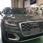 カーラッピング Audi Q2 パートラッピング 【LAPPS】