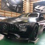 カーラッピング メルセデス・AMG GT53 フルラッピング 【LAPPS】