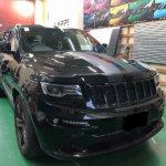 カーラッピング Jeep Grand Cherokee パートラッピング 【LAPPS】