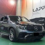 カーラッピング メルセデス・AMG GLCクーペ パートラッピング【LAPPS】