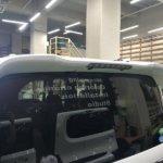 カーラッピング Honda N-BOX Custom パートラッピング 【LAPPS】