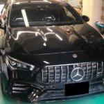 カーラッピング メルセデス・AMG CLA45 パートラッピング 【LAPPS】