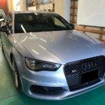 カーラッピング Audi S3 パートラッピング 【LAPPS】
