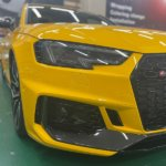 カーラッピング Audi RS4 Avant フルラッピング 【LAPPS】