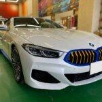 カーラッピング BMW 840i カブリオレ パートラッピング 【LAPPS】