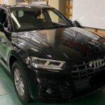 カーラッピング Audi Q5 パートラッピング 【LAPPS】